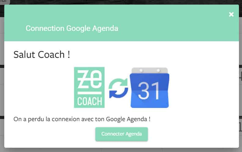 Connecter Google Agenda