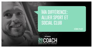 FB interview cédric Pajot coach