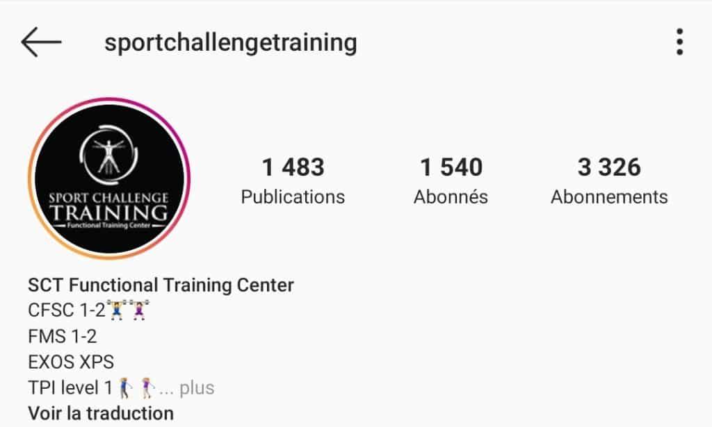 Sport Challenge Training
